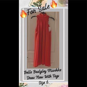 | (Sale) NEW Designer Belle Badgley Mischka Dress